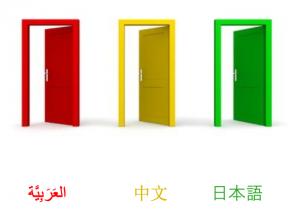 immagine tre porte colorate