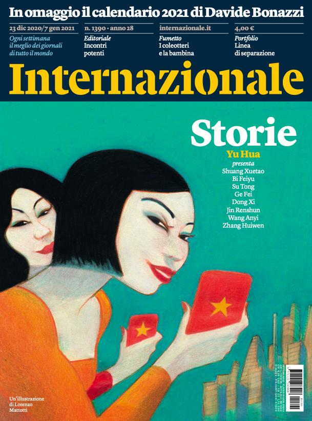 Copertina rivista Internazionale Storia - dic 2020 / gen 2021