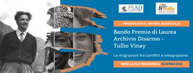 Premio Laurea Archivio Disarmo 2021