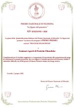 locandina primo premio concorso nazionale filosofia