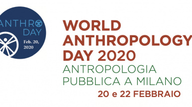 Logo evento World Anthropology Day 2020